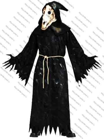 Пример костюма с маской