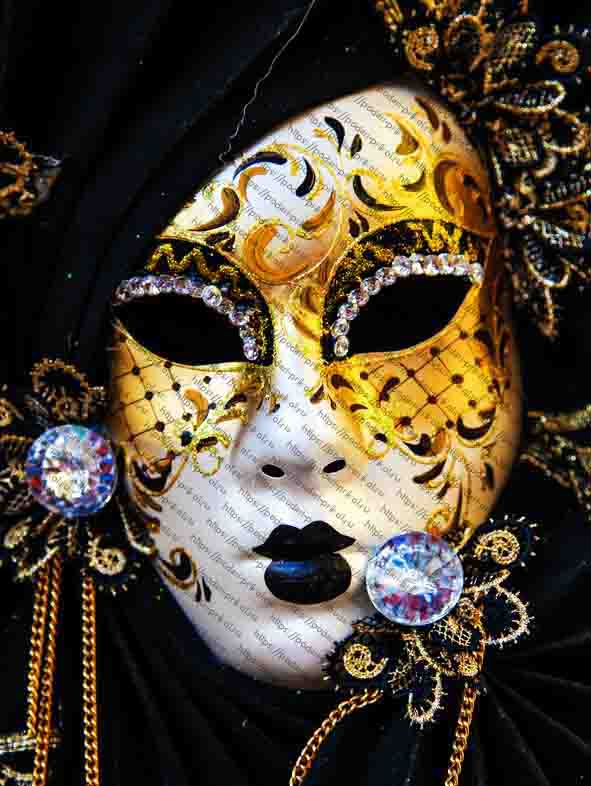 маска коломбина