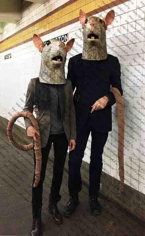 маска крыски