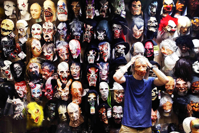страшные маски магазин