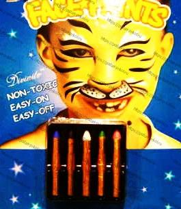 карандаши гримерные на хэллоуин