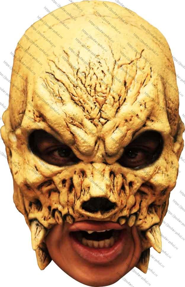 Полумаска череп